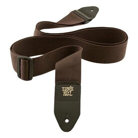 ERNIE BALL POLYPRO STRAPS 4052 Brown ギターストラップ