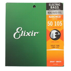 ELIXIR 14102/NANOWEB/BASS/Medium ベース弦