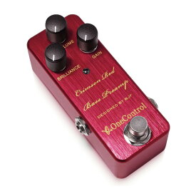 One Control Crimson Red Bass Preamp アップライトベースシミュレートプリアンプ