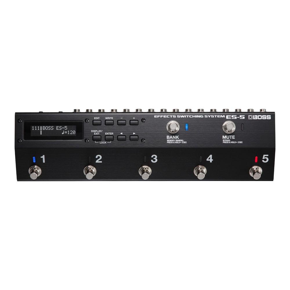 BOSS ES-5 Effects Switching System エフェクタースイッチングシステム
