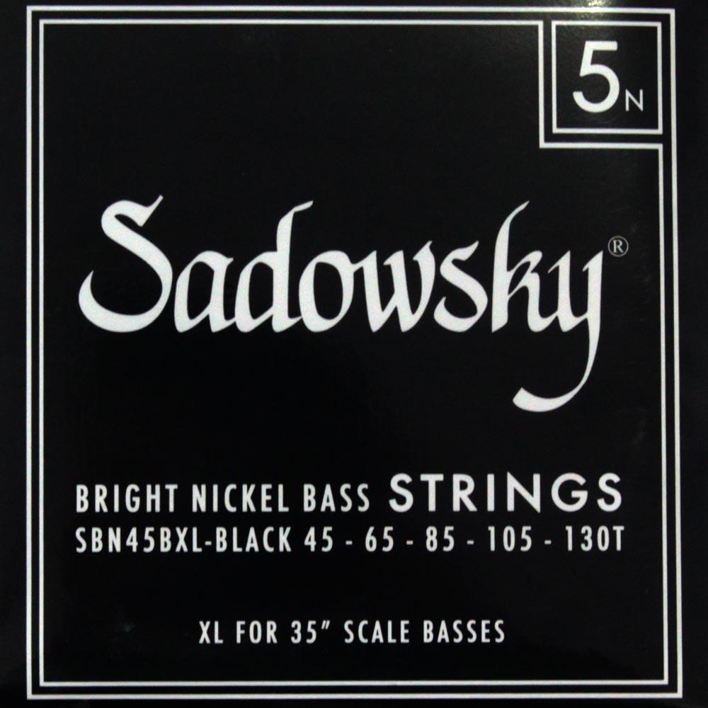 SADOWSKY SBN45BXL Black ブラックラベル 5弦ベース弦