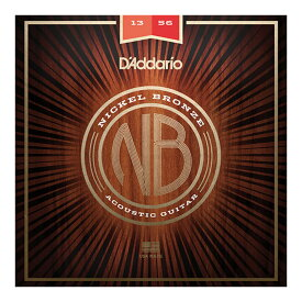 D'Addario NB1356 Nickel Bronze Wound Medium アコースティックギター弦