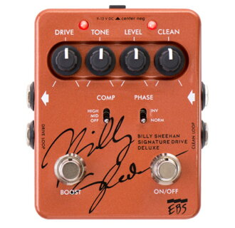EBS Billy Sheehan Signature Drive DELUXE bass effects