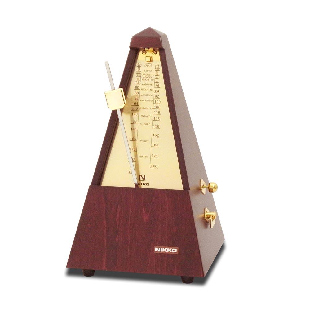 NIKKO 104 木製メトロノーム ゴールド