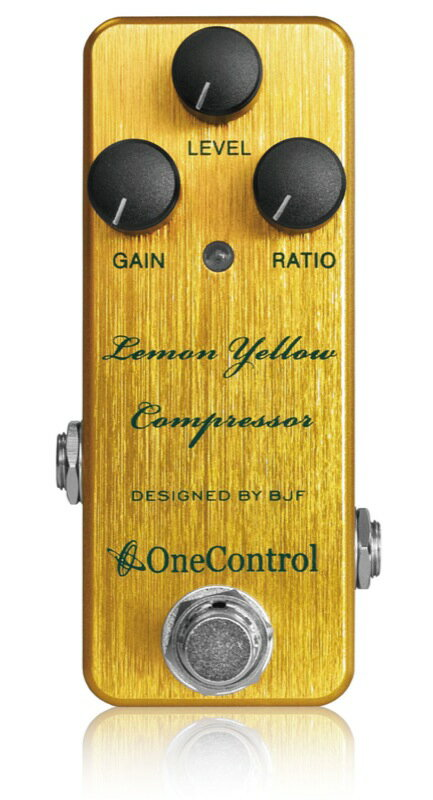 One Control Lemon Yellow Compressor コンプレッサー エフェクター