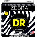 DR ZEBRA ZAE-12 MEDIUM アコースティックギター弦