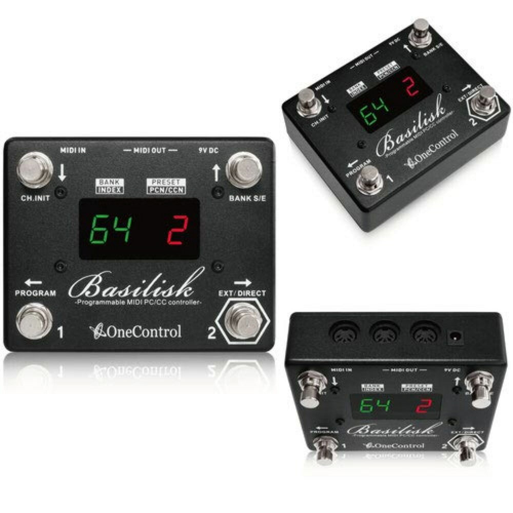 One Control Basilisk MIDIコントローラー