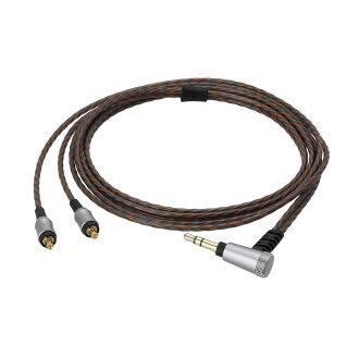 供AUDIO-TECHNICA HDC213A 1.2内部年供使用的耳机使用的穿脱电缆