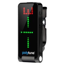 tc electronic polytune clip Black クリップ式 ポリフォニックチューナー