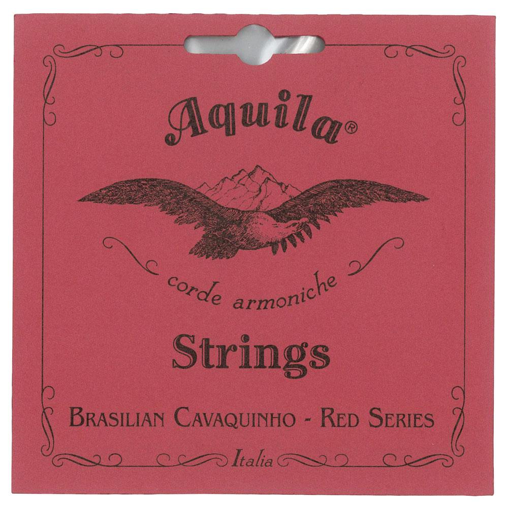 AQUILA AQ-CAV(15CH) Red Series BRASILIAN CAVAQUINHO Strings カヴァキーニョ弦
