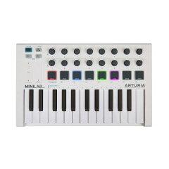 ARTURIAMiniLabMKIIUSB/MIDIキーボードコントローラー【バドルソフト付き】