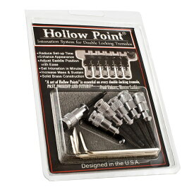ALLPARTS BRIDGE 6057 Black Cherry USA Hollow Point Intonation System フロイドローズ用イントネーションシステム