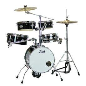 Pearl RT-645N/C #31 Rhythm Traveler Version.3S ジェットブラック ドラムセット