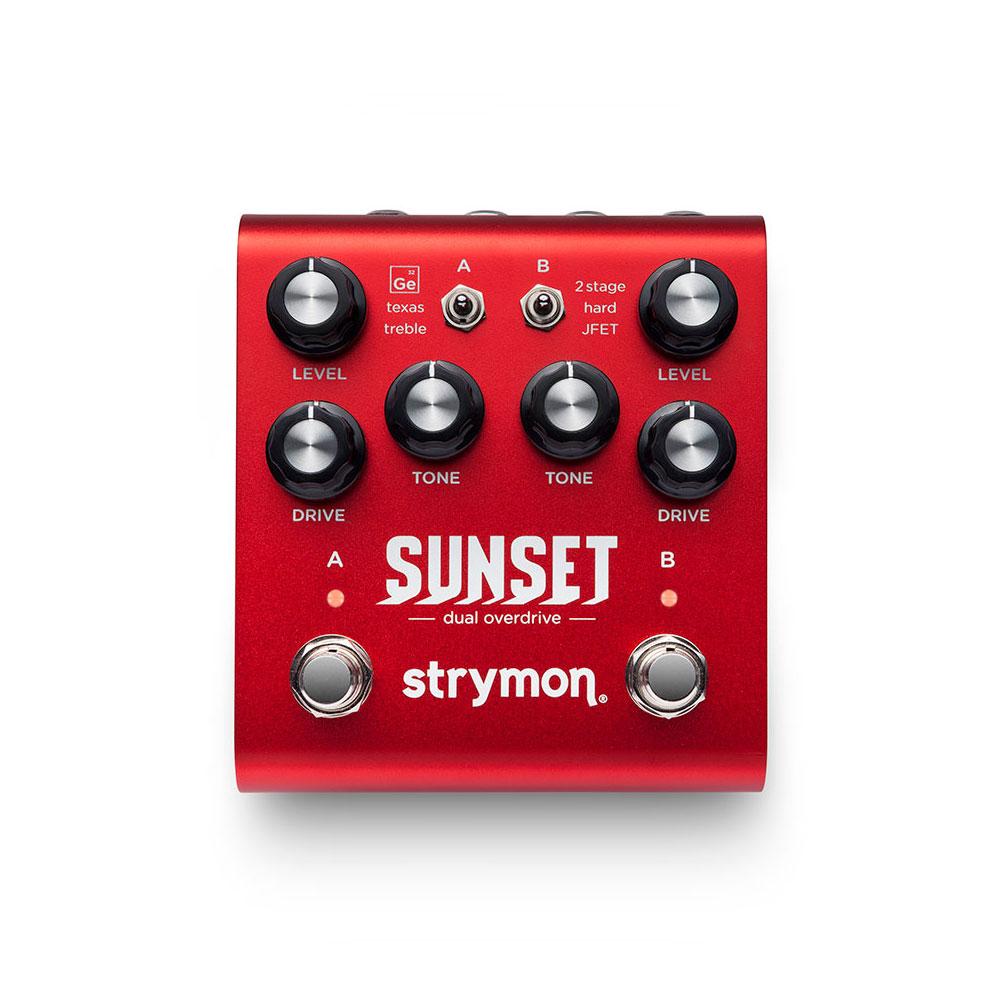 strymon SUNSET dual overdrive オーバードライブ エフェクター