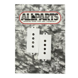 ALLPARTS PICKUP COVER 8234 Pickup covers for Precision Bass White ピックアップカバー