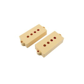 ALLPARTS PICKUP COVER 8235 Pickup covers for Precision Bass Cream ピックアップカバー