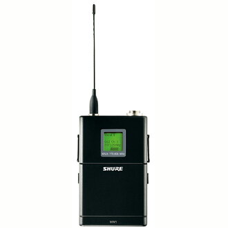 SHURE MW1-MJBX 무선 시스템 보디 팩형 송신기
