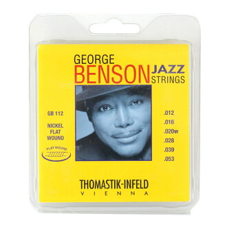 Thomastik-Infeld GB112 GEORGE BENSON JAZZ STRINGS Flat Wound furattowaundogita弦