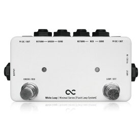 One Control Minimal Series White Loop Flash Loop with 2DC OUT ループボックス