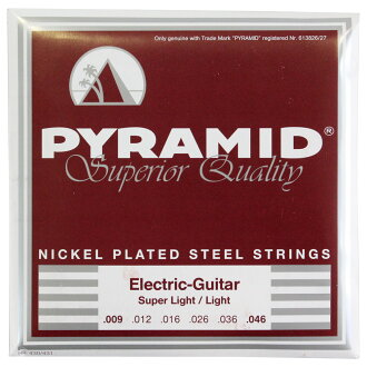 PYRAMID STRINGS EG NPS 009-046일렉트릭 기타현