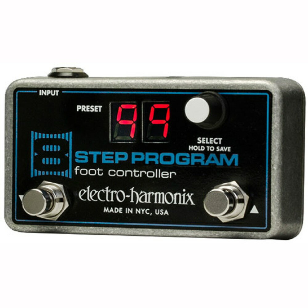 ELECTRO-HARMONIX 8 Step Program Foot Controller 8 Step Program専用フットコントローラー