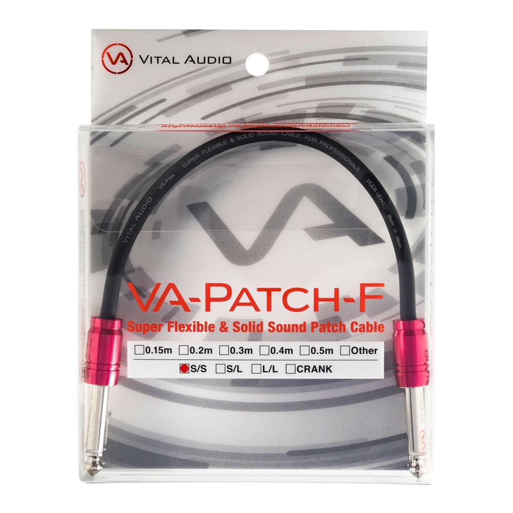 Vital Audio VA-Patch-F-0.3m SS 30センチ パッチケーブル