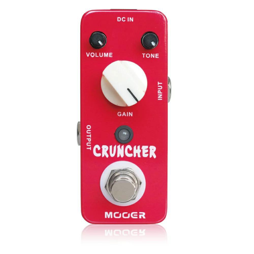 Mooer Cruncher ディストーション エフェクター