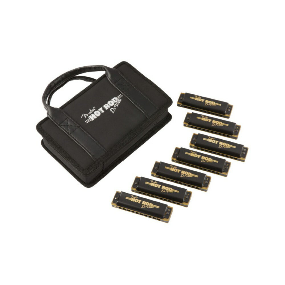 Fender Hot Rod DeVille Harmonica 7 Pack with Case ハーモニカ