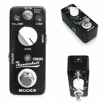 Mooer ThunderBall fuzz base effector