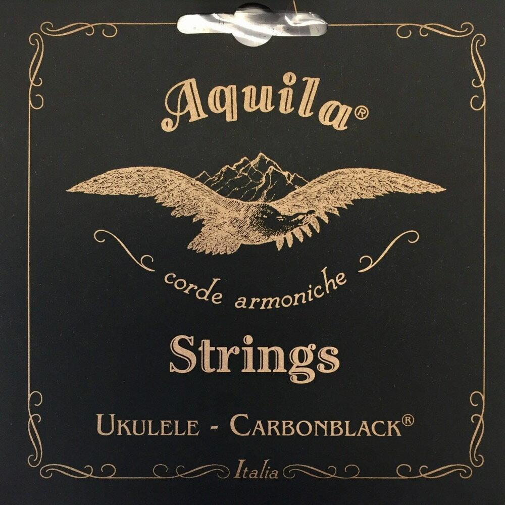 AQUILA AQC-CR 142U Carbonblack Series コンサートウクレレ弦