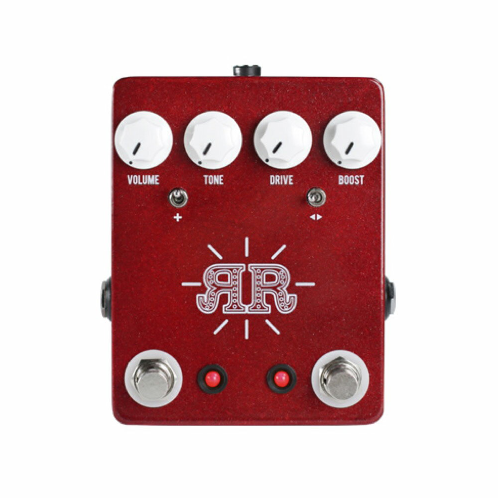 JHS Pedals Ruby Red オーバードライブ ブースター ギターエフェクター