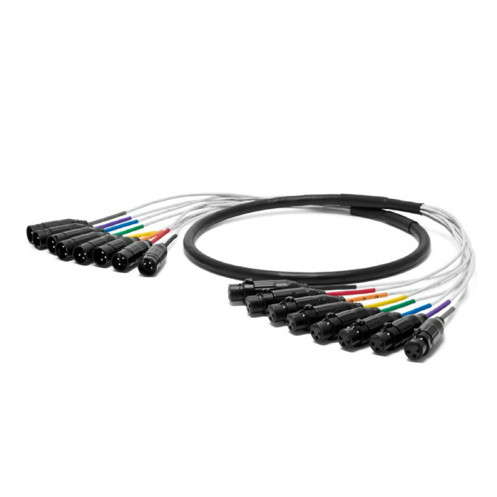 NEO by OYAIDE Elec PA-08 XLR V2 3.0m アナログ・デジタル両用 8chマルチケーブル