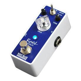 RevoL effects EOD-01 NAVY BLUE OVERDRIVE オーバードライブ ギターエフェクター