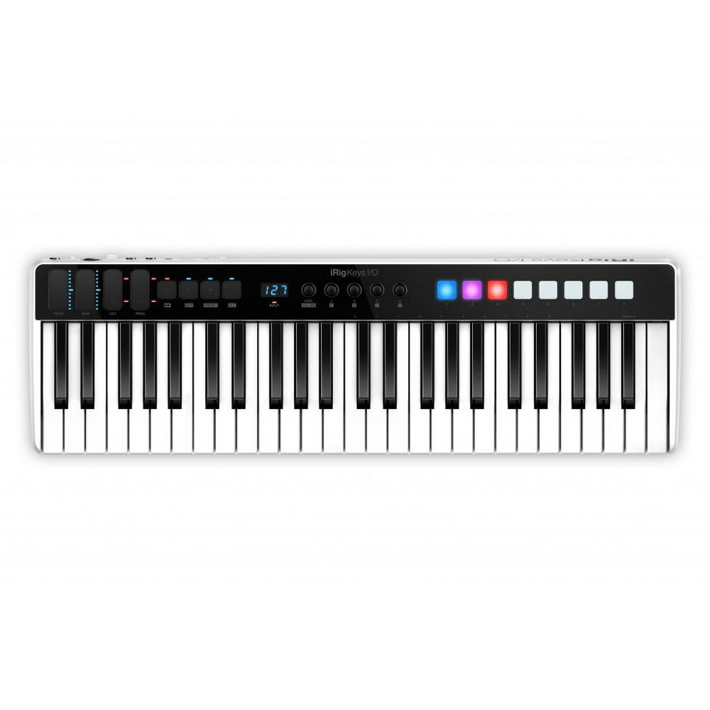 IK Multimedia iRig Keys I/O 49 オーディオインターフェース MIDIキーボード