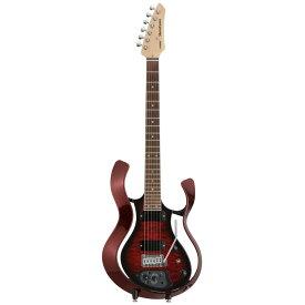 VOX VSS-1-24MWRWB-Q Starstream Metallic Wine Red Frame with Wine Burst Quilted Maple Top モデリングギター