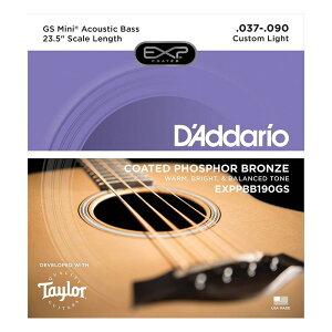 D'Addario EXPPBB190GS Taylor GS Mini Bass用 アコースティックベース弦