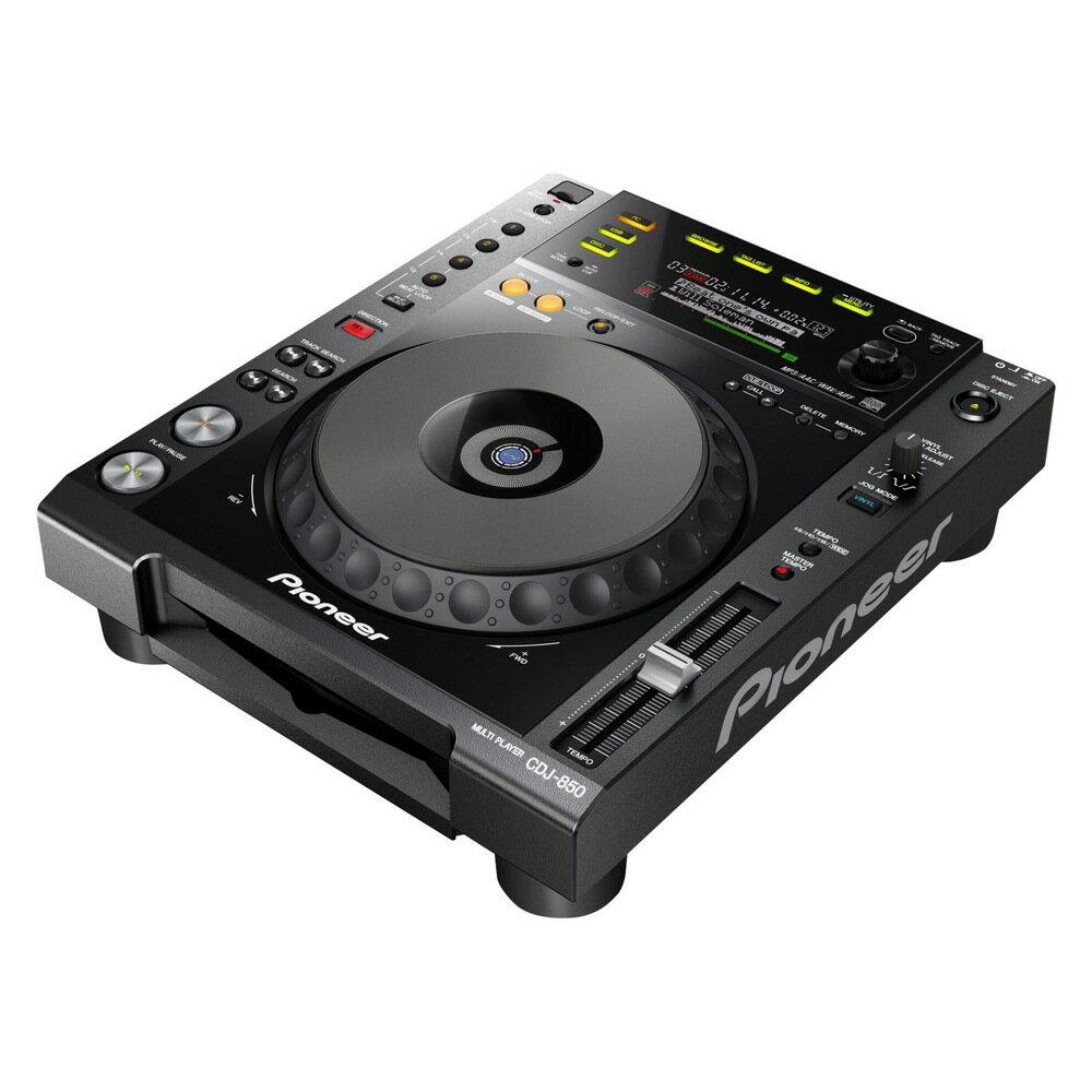 Pioneer CDJ-850-K Black DJ用マルチプレーヤー
