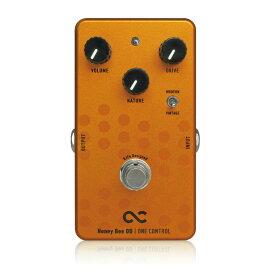 One Control BJFe Series Honey Bee OD オーバードライブ ギターエフェクター