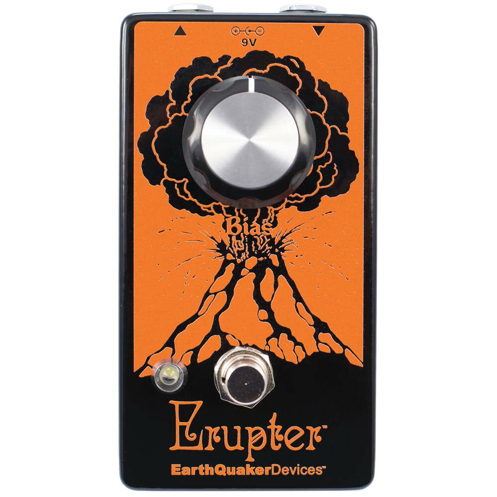EarthQuaker Devices Erupter ファズ ギターエフェクター