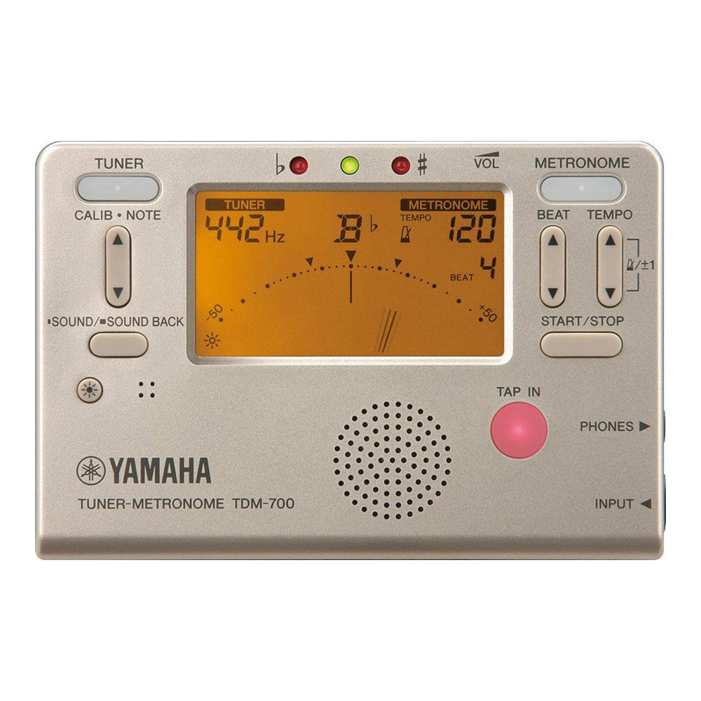 YAMAHA TDM-700G ゴールド チューナーメトロノーム