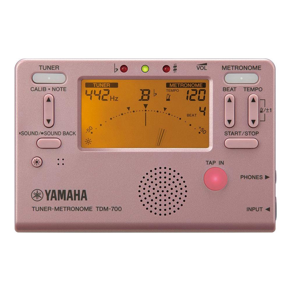 YAMAHA TDM-700P ピンク チューナーメトロノーム