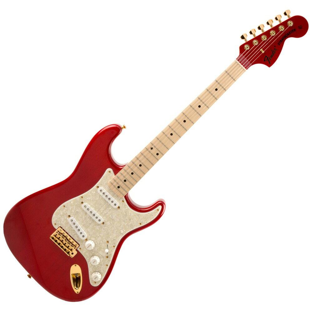 【予約受付中】 Fender MAMI STRATOCASTER Custom Red エレキギター