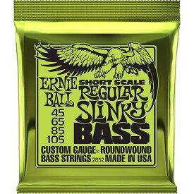 ERNIE BALL Short Scale Regular Slinky Bass #2852 ショートスケールベース弦