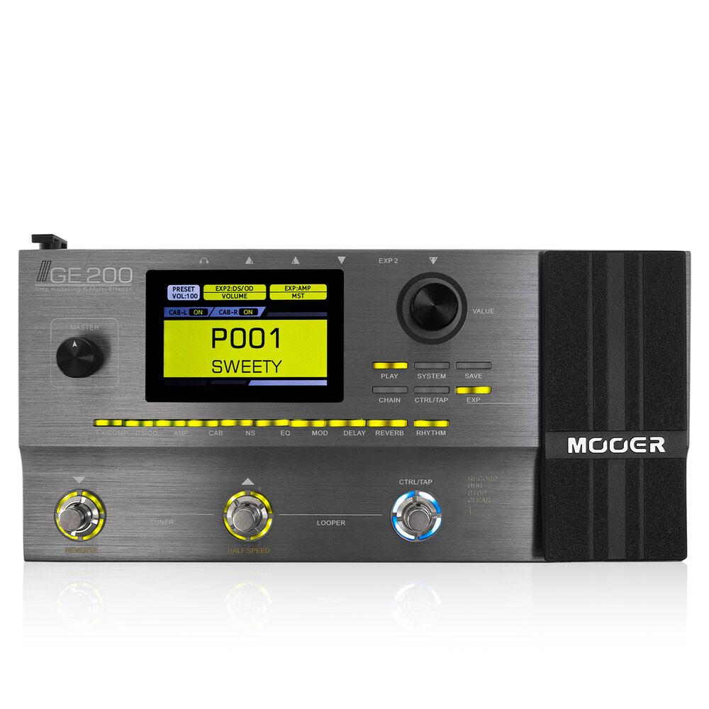 Mooer GE200 マルチエフェクター