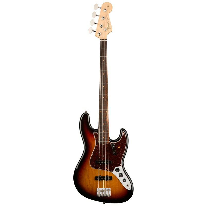Fender American Original '60s Jazz Bass RW 3-Color Sunburst エレキベース