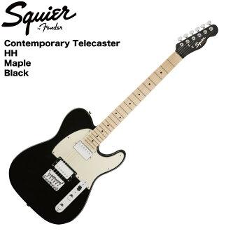 Squier Contemporary Telecaster HH Black Metallic 일렉트릭 기타