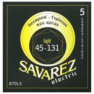 SAVAREZ HEXAGONAL EXPLOSION B70L5 5 string electric guitar base string