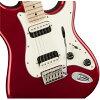 Squier Contemporary Stratocaster HH Dark Metallic Red 일렉트릭 기타
