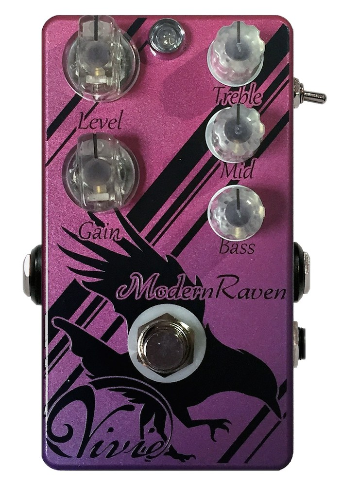 Vivie ModernRaven Higain Distortion ギターエフェクター