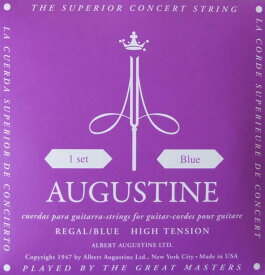 AUGUSTINE REGAL BLUE SET クラシックギター弦
